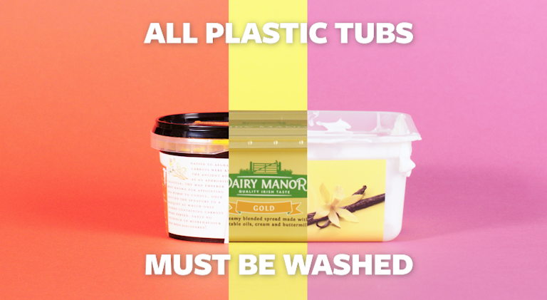 Recycling your Plastic Tubs and Trays