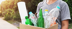 Get up to date, with our complete guide to recycling your packaging waste