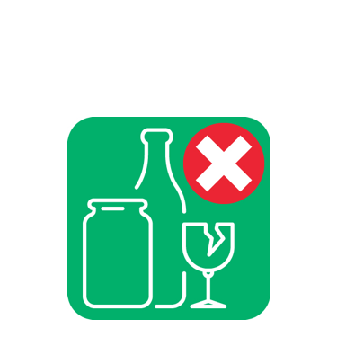 Please bring glass to your local bottle bank